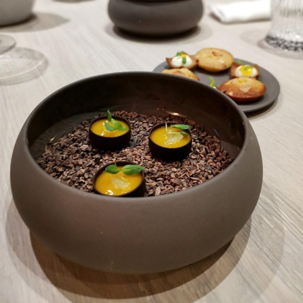 mignardises restaurant L'Odas