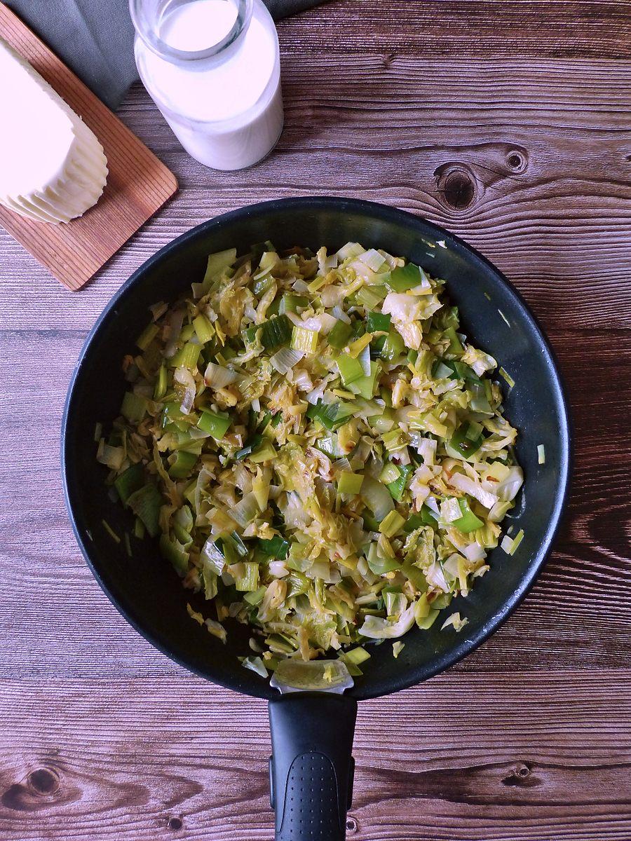 Poêlée de légumes verts pour Colcannon