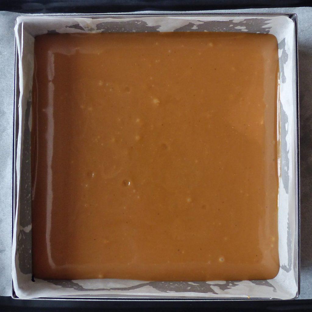 Caramel sur biscuit Shortbread Millionnaire