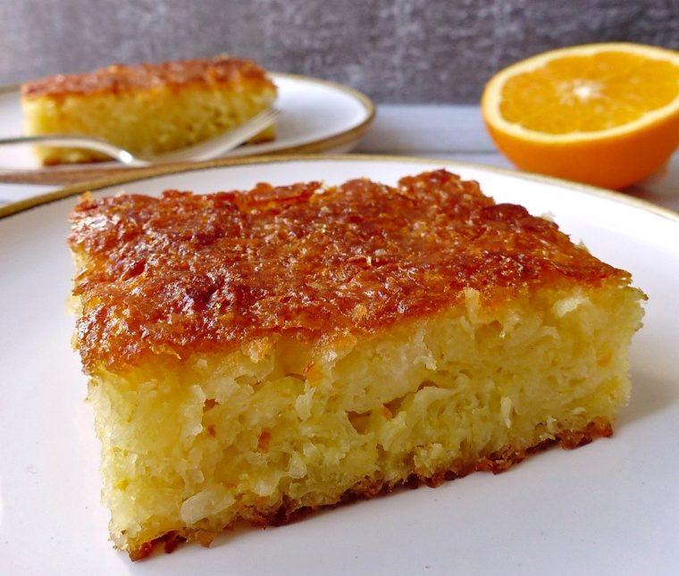 Portokalopita [ou gâteau grec à l'orange]