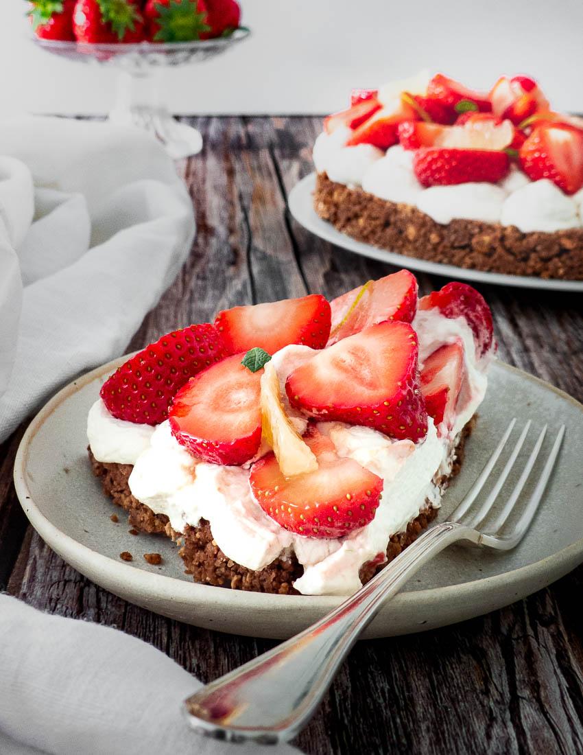Tarte aux fraises croustillantes de Nina Metayer